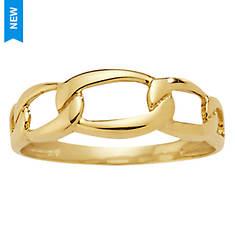 Women's 10K Gold Figaro Ring
