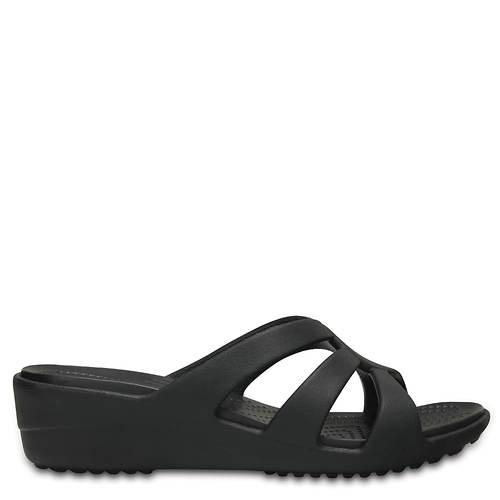 Crocs™ Sanrah Strappy Wedge (Women's)