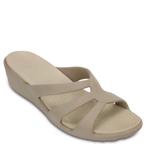 Crocs™ Sanrah Strappy Wedge (Women's)