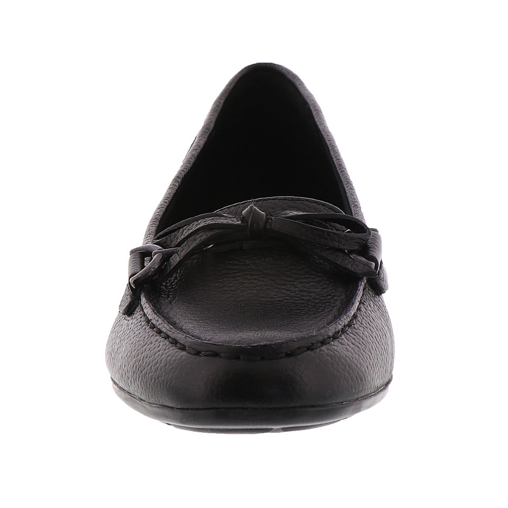 4fd2b514e24 Easy Spirit Antil Women s Slip on Wide (c D W) Leather Black 10