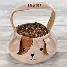 Personalized Puppy Basket