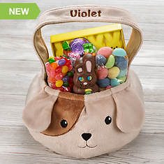 Personalized Puppy Basket and Candy