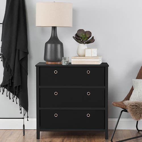 Foldable 3 Drawer Dresser