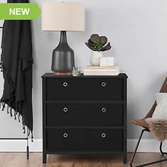 Foldable 3 Drawer Dresser