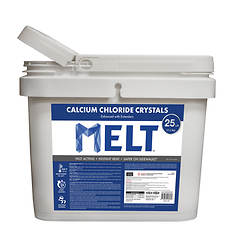 Snow Joe 25-Lb. Bag Calcium Chloride Crystals Ice Melt