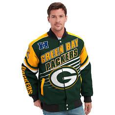 Men's NFL Linebacker Twill Jacket