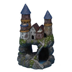 Medium Enchanted Castle Fish Ornament