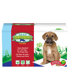 100-Count Dry-Tech Housebreaking Pads