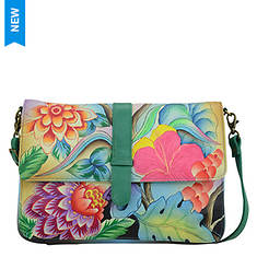 Anna by Anuschka Medium Flap Messenger