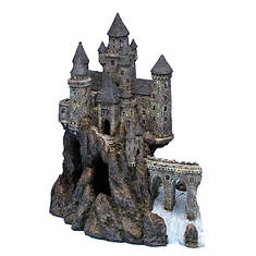 Magical Castle Aquarium Ornament