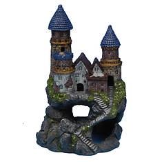 Large Enchanted Castle Fish Ornament