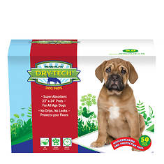 50-Count Dry-Tech Housebreaking Pads