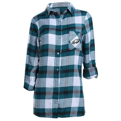 Women's NFL Headway Plaid Shirt