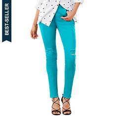 Destructed Colored Skinny Jean