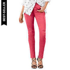 Destructed Colored Skinny Jean
