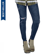 Destructed Denim Skinny Jean