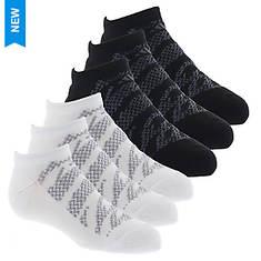 adidas Boys' Tiger Style 6-Pack No Show Socks