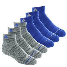 adidas Boys' Superlite 6-Pack Low Cut Socks