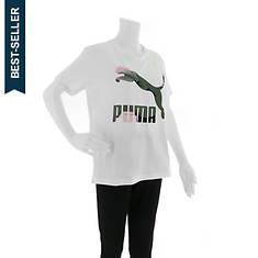 PUMA Women's Classics Logo Tee
