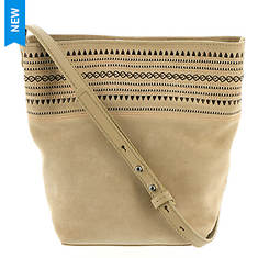 Lucky Brand Peony Crossbody Embroidery Bag