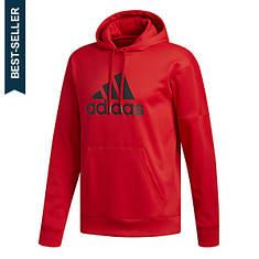 adidas Men's Team Issue Fleece Pullover Logo Hoodie