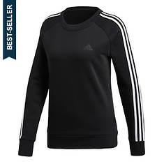 adidas Women's Cotton Fleece 3S Crew