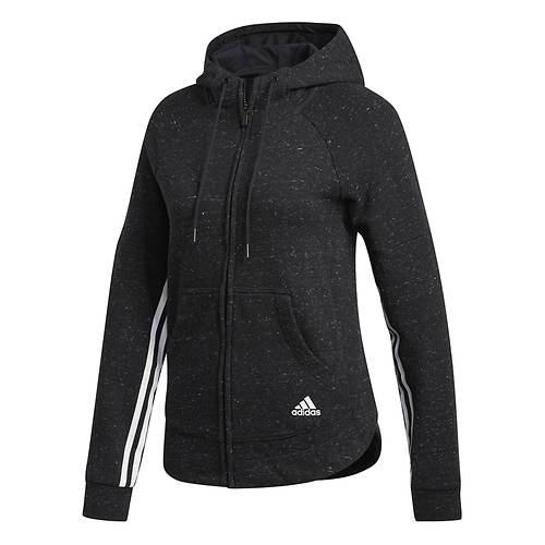 adidas Women's Sport2Street Full-Zip Hoody