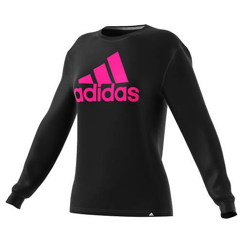 adidas Women's Badge of Sport LS Tee