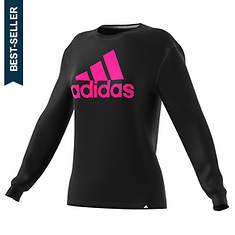 adidas Women's Badge of Sport LS Tee
