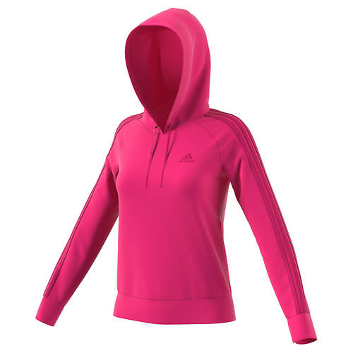 adidas Women's Essentials Cotton Fleece 3S Pullover Hoodie