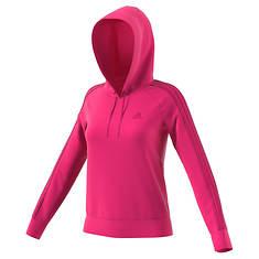 adidas Women's Essentials Cotton Fleece 3S Pullover Hoodie