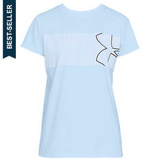Under Armour Women's Graphic Classic Crew Chest Logo Tee