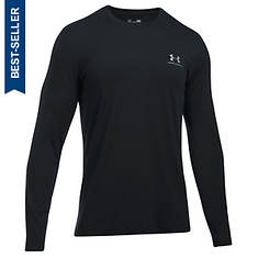 Under Armour Men's Chest Logo Long Sleeve Tee