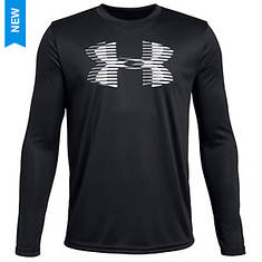 Under Armour Boys' UA Tech Big Logo LS