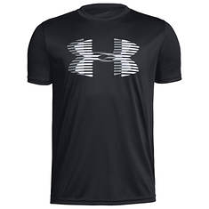 Under Armour Boys' UA Tech Big Logo Solid Tee