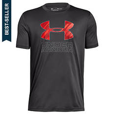 Under Armour Boys' Print Fill Logo Tee