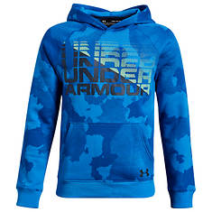 Under Armour Boys' Rival Wordmark Hoodie