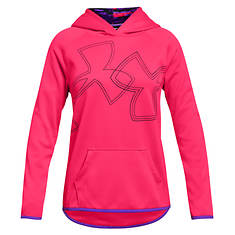 Under Armour Girls' AF Hoody Dual Logo