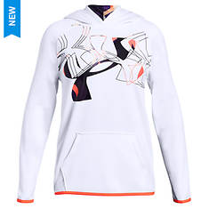 Under Armour Girls' AF Hoodie Print Fill Logo