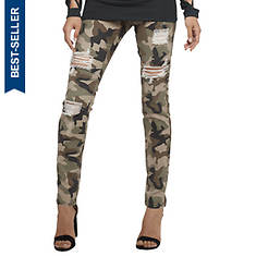 Destructed Printed Jegging