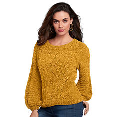 Chenille Chunky Knit Sweater