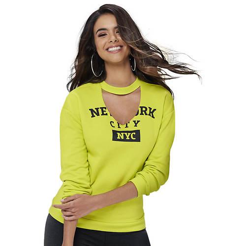 Oversized Graphic Sweatshirt