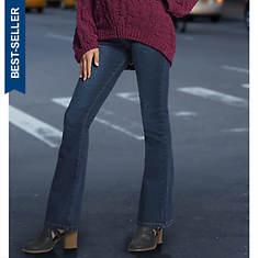 High-Waist Bootcut Jean