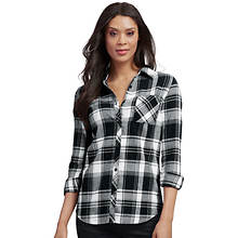 Boyfriend Plaid Shirt