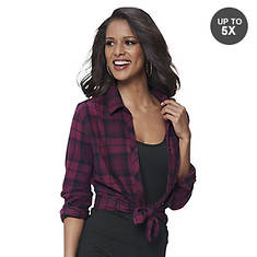 de05bdf8bfaac0 Boyfriend Plaid Shirt