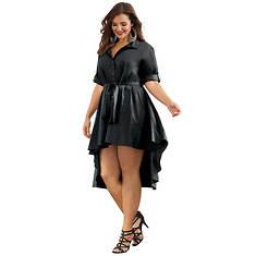 Hi-Low Shirt Dress