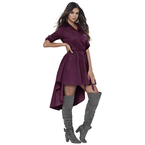 Hi-Low Shirt Dress