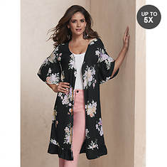 Floral Ruffle Duster