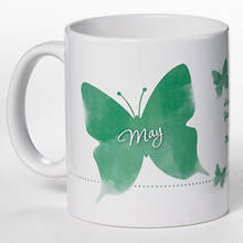 Personalized Birth Month Butterfly Mug - May