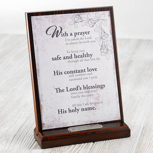 Personalized Prayer Plaque